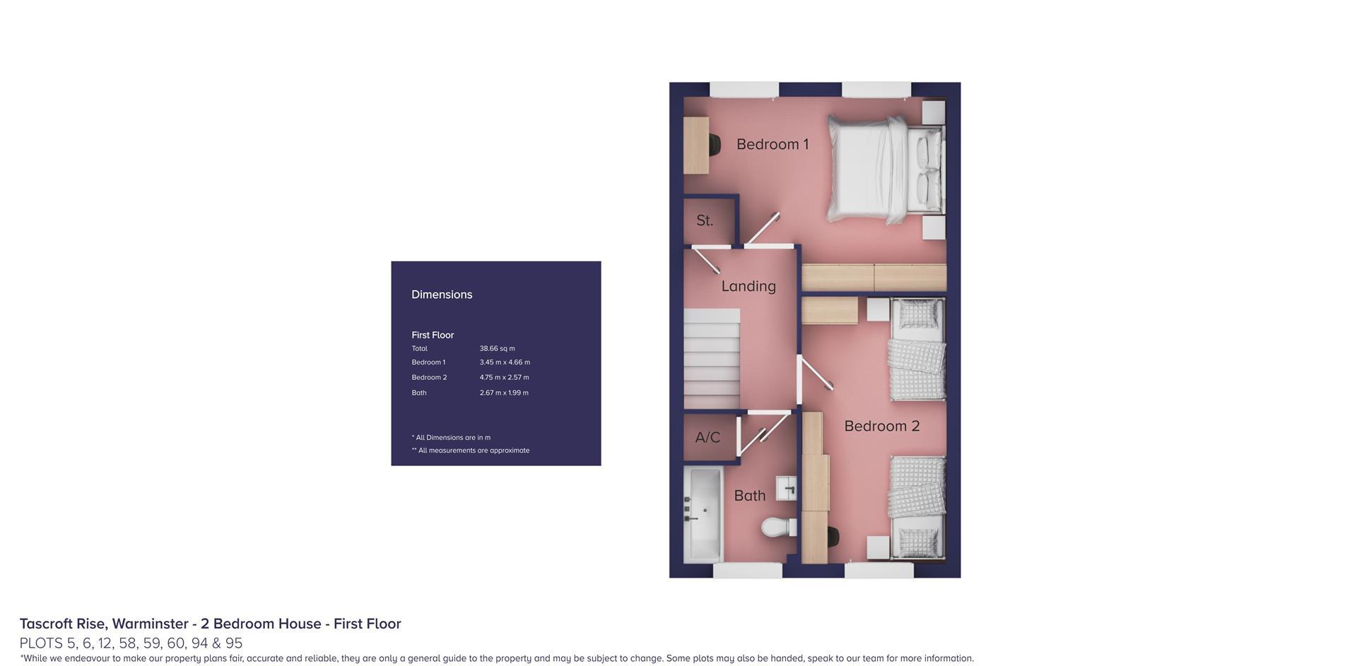 Tascroft Rise, Warminster_Plots 5, 6, 12, 58, 59,